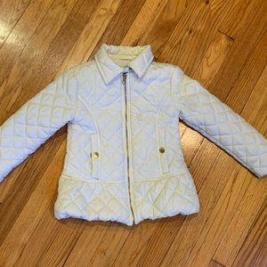 ME JANE Cream Puffer Kids Jacket Size 5